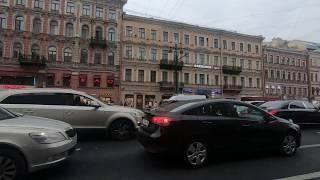 Как Питер гулял победу Россия-Испания! Невский проспект