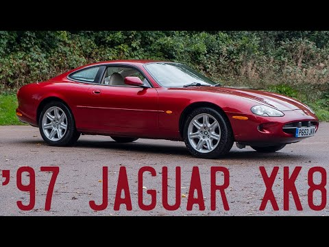1997 Jaguar XK8 Goes For A Drive