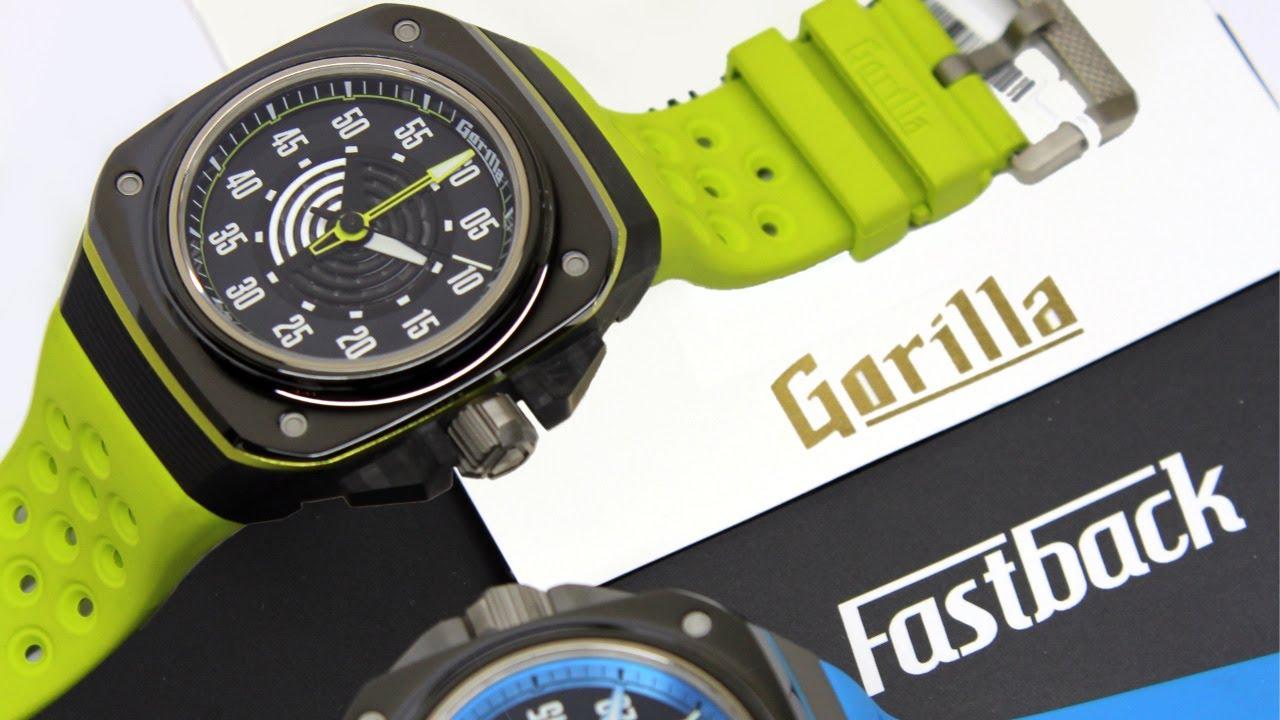 ¿Un reloj llamado Gorilla?