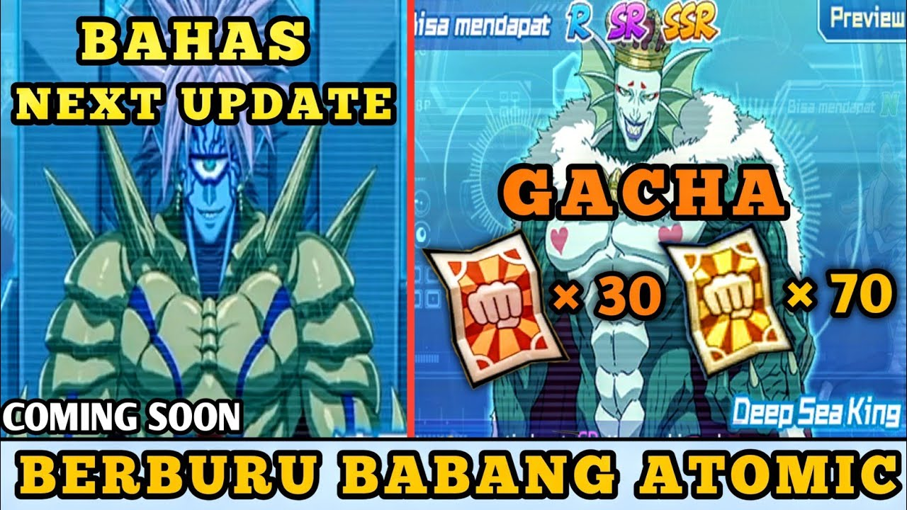 SEMOGA GAK AMPAS  GACHA 100 TIKET  + BAHAS NEXT UPDATE | One Punch Man The Strongest Indonesia