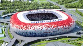 Стадион к ЧМ-2018 в Саранске