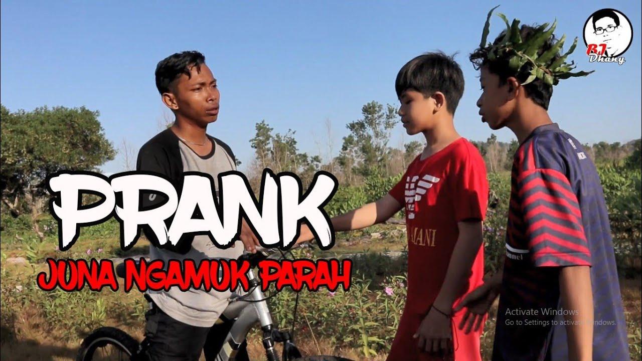 PRANK BANG JUNA SAAT SYUTING❗SAMPAI NGAMUK PULANG TIDAK MAU SYUTING 🤪 || BJ DHANY
