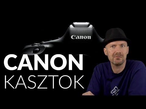 Canon kasztok | DSLR típusszámok és kategóriák letöltés