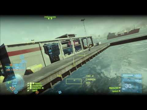 Battlefield 3 Ps3 - Attack Helicopter Gameplay on Kharg Island