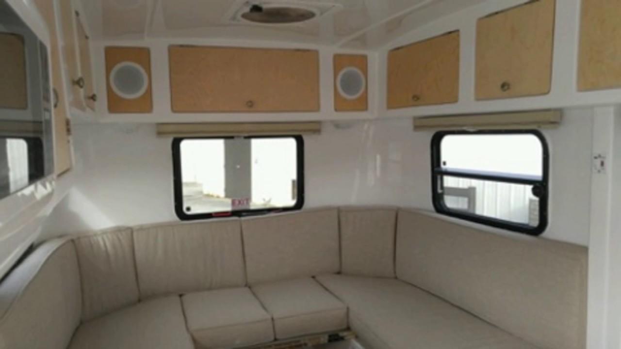Parkliner Fiberglass Travel Trailer  YouTube