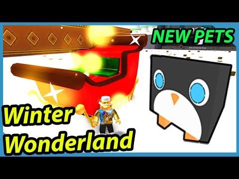 Winter Wonderland And New Pets   Roblox Pet Simulator