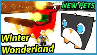 Winter Wonderland and New Pets | Roblox Pet Simulator
