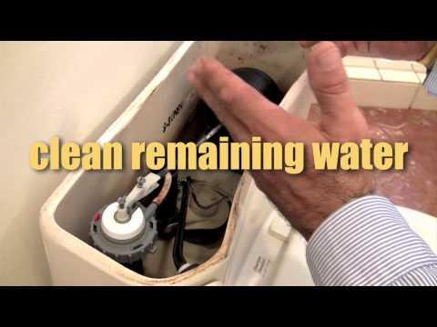 How To Fix A Leaking Toilet / Toilet Leak Repair