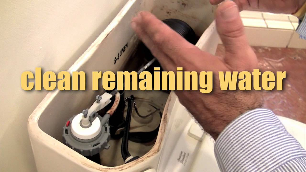 How To Fix A Leaking Toilet Leak Repair