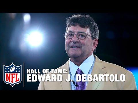 Edward J. DeBartolo Hall of Fame Speech  2016 Pro Football Hall of Fame  NFL