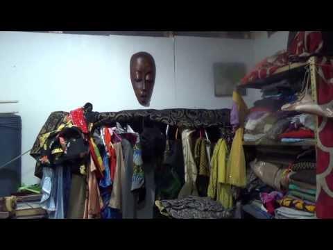 Babatunde Ajiboye's Fabrics At Chashama Art Studio Program Harlem--Republic Reporters