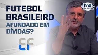 FUTEBOL BRASILEIRO AFUNDADO EM DÍVIDAS? Flamengo é exemplo para outros clubes?