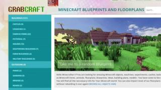 http://www.GrabCraft.com will be your number one website for minecraft blue prints and online floorplans. Have You tried building