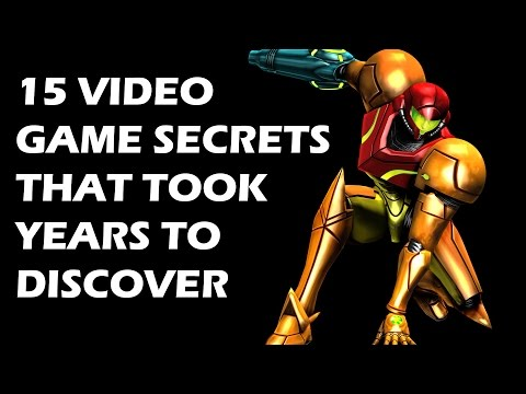 15 Video Game Secrets That Took Years To Discover