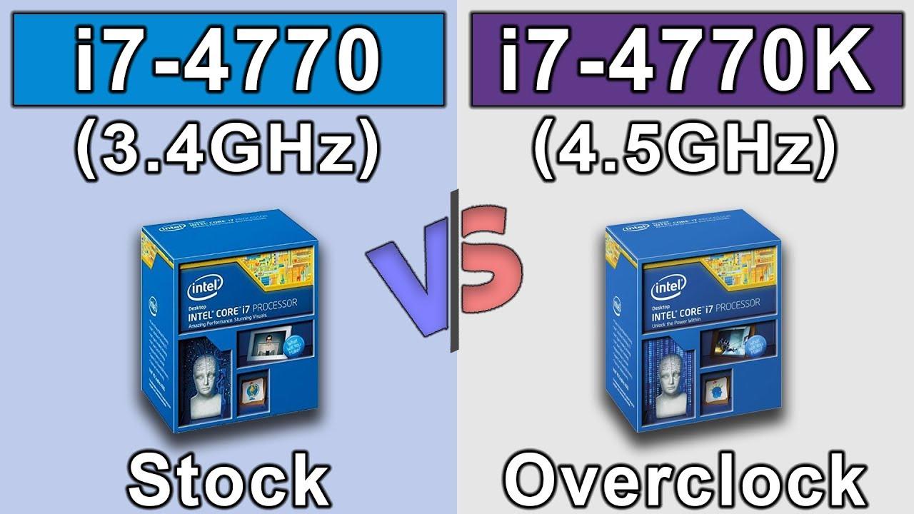 i7 4770 (non K) vs i7 4770K (4 5GHz) OC | GTX 980 Ti OC | New Games  Benchmarks