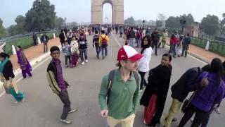 Прогулка по Дели. Ворота Индии.(Еще один день в Дели. Прогулкак по городу. Осмотр