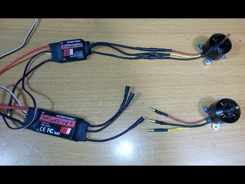 How to Solder Bullet Connectors to Brushless Motors and ESC