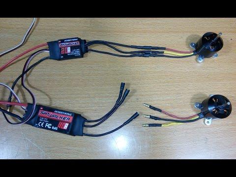 Multi engine esc wiring doovi for Understanding brushless motor kv
