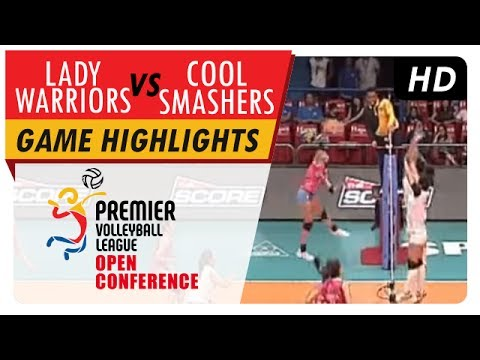 Lady Warriors vs Cool Smashers | PVL Open Conference | Game Highlights | July 15, 2017