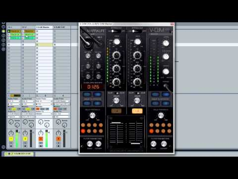 V-DJM 2Ch - Tutorial with Ableton Live