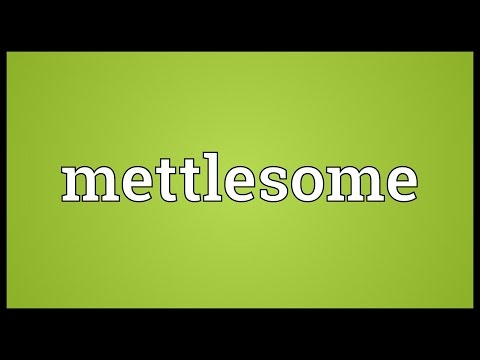 Header of mettlesome