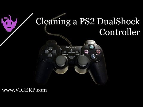 Cleaning a PS2 Controller