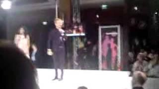Collien Fernandez und Ross- Dance+Fashion Party- Citti Park Kiel 2009 Part2