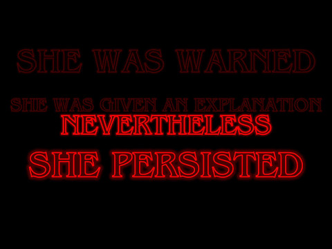 Nevertheless, She Persisted Tattoo Event