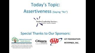 Assertiveness