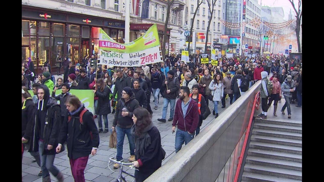 Demo Wien Photo: Asyl-Demo Legte Wien Lahm