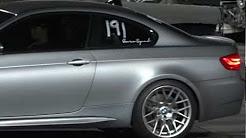 2011 BMW M3 E92 1/4 Mile 12.94 @ 110 mph