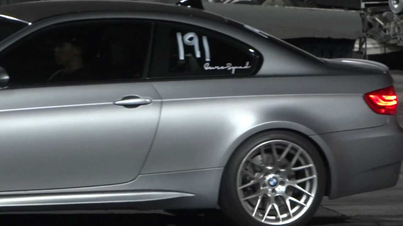 2011 bmw m3 e92 1 4 mile 110 mph youtube. Black Bedroom Furniture Sets. Home Design Ideas