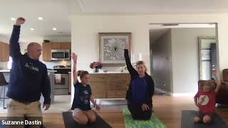 Family Yoga with the Dastin's