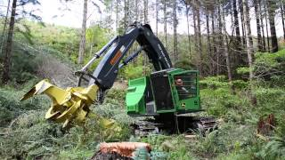 Introducing the New M-Series Tracked Feller Bunchers and Tracked Harvesters