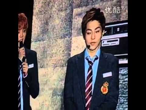 "131001 Shanghai West Coast Music Festival - ""Talk"" Luhan & Xiumin"