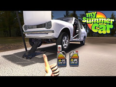 My Summer Car - OIL CHANGE UPDATE