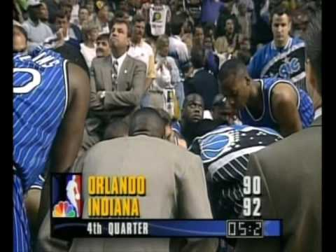 NBA - Indiana-Orlando 1995 - Game 4, 2nd Half 6/6 - HQ