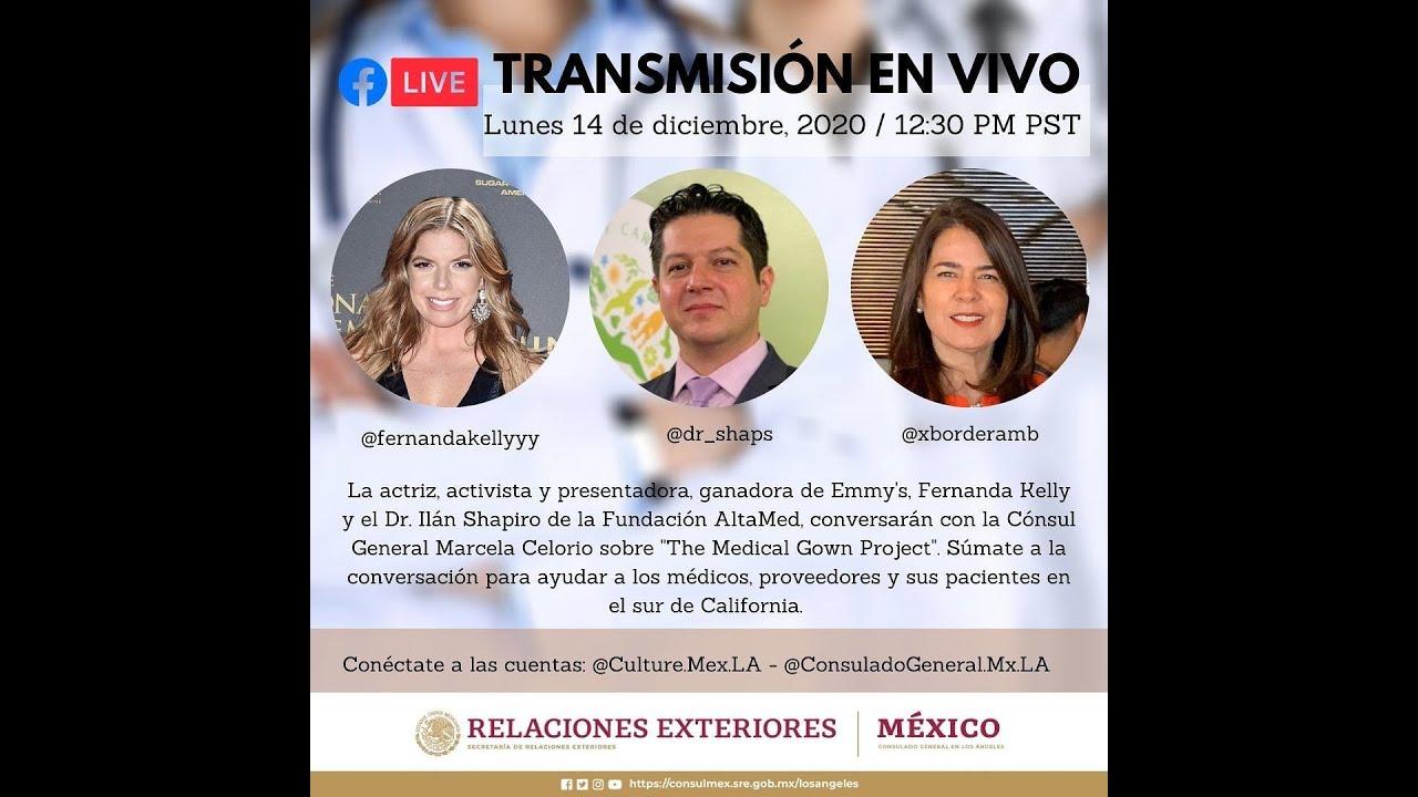 Conversación con Fernanda Kelly y el Dr. Ilan Shapiro: 14 de diciembre