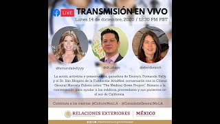 Conversación con Fernanda Kelly y el Dr  Ilan Shapiro: 14 de diciembre