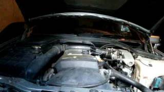 Mercedes - Benz C180 W202 1.8L 122hp Sound motor