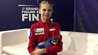 Александра Трусова Интервью Финал Гран При 2019 2020