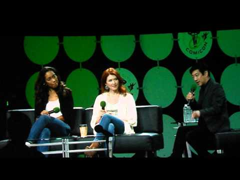 Gina Torres, and Jewel Staite with Grant Imahara moderating.