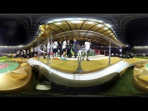 360-Grad-Video: Siegerehrung DFB-Pokal der Männer