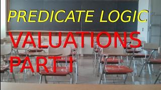 Predicate Logic: Valuation of Unquantified Formulas