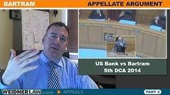 Statute of Limitations in Foreclosure- Part 2 Bartram
