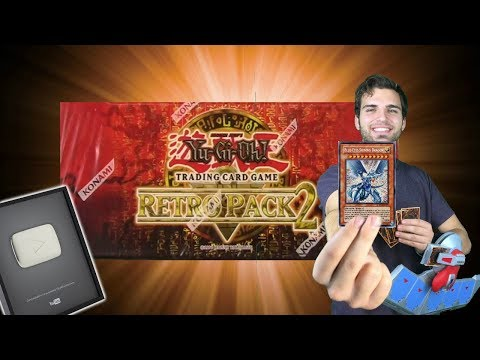 YuGiOh Retro Pack 2 Box Opening, Search for the Shining Drag