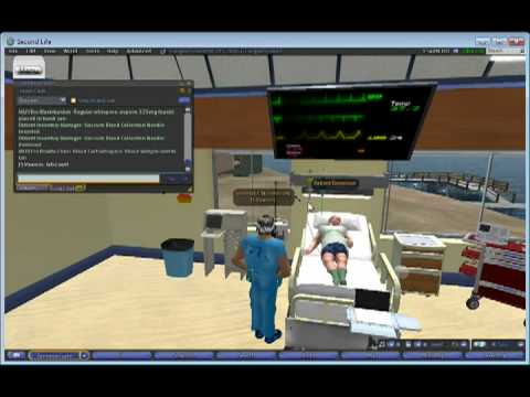 Medical Simulation in the Virtual World of Second Life by MUVErs