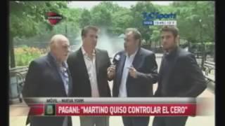 Pagani analiza derrota Argentina frente a Chile y se enoja Copa América Centenario 27 Junio 2016