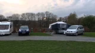 Woodclose caravan park 2014  caravan pitches