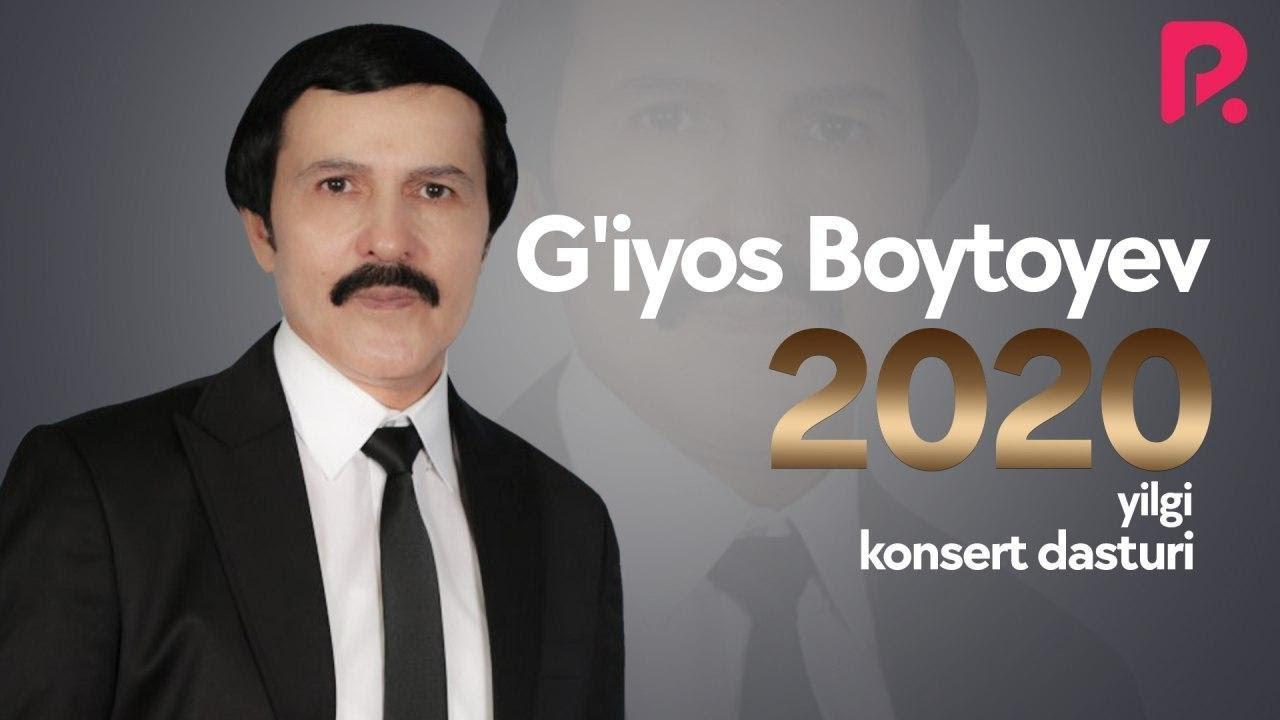G'iyos Boytoyev 2020-yilgi konsert dasturi